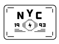 Tee Shirt Idea for NYC 1993 at New Museum