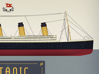 Titanic 100 years infographics