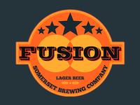 Beer label logo
