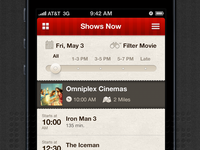 Movie App - iOS/iPhone
