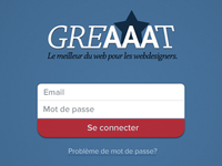 Greaaat Login form