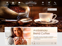 Coffeeshop Website Concept @2x