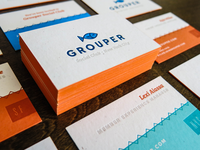 Grouper Business Card - Shot 2