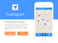 Transport - App Template