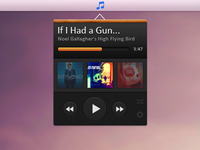 Smaller Music Player Widget