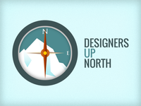 Designers Up North Logo Design