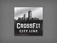 Crossfit City Line Logo 5e