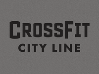 Crossfit City Line Logotype