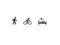 Walking, Activity, Sleep