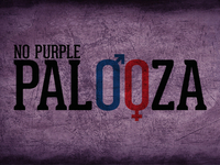 No Purple Palooza Dribbble