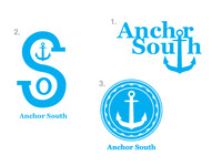 Anchor South logo concepts