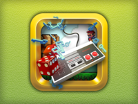 Kid Tablet «Games» icon