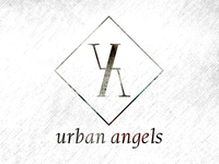 Urban Angel Salon Logo Draft