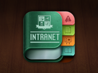 School Intranet IOS icon