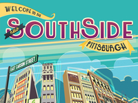 SouthSide Pittsburgh Infographic Progress