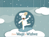 Custom Site Header Design - From Wags To Wishes