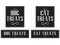 Pet Treat Design Labels