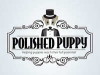 Pet Business Logo Design - Polished Puppy