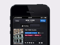 Travel Reservation iOS App