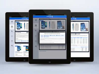DS iPad app · Catalogue: Plans and info