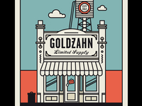 Goldzahn Postcard