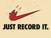 Just record it.