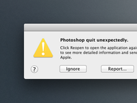 Photoshop CS6 Crash [CSS]