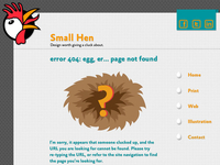 404: Egg, er...page not found
