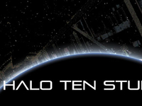 Halo Ten Studios business card