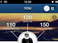 Instagram Profile Redesign