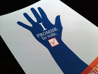 I Promise to Vote.