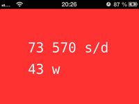 Clock iOS Web App