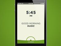 iPhone Alarm Clock Concept