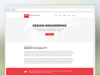 Cides product design home page