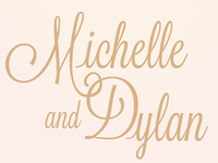 Wedding Title Treatment