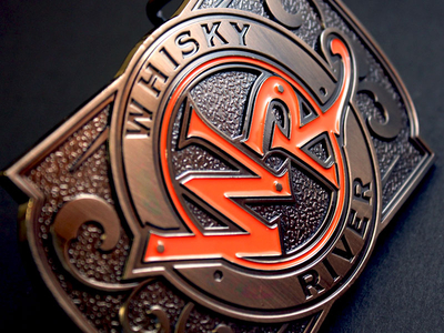 Whisky River Belt Buckle