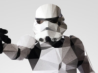 Stormtrooper - Polygon Pixel