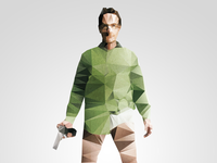 Heisenberg Breaking Bad - Polygon Pixel