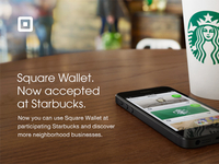 Starbucks & Square Wallet