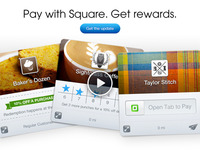Pay with Square Email Announcement