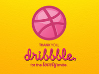 Thank You, Dribbble