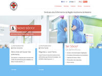 User interface for a Nurses Union Website