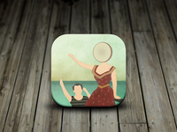 Neutral Milk Hotel Album iOS Icon
