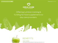 Child Care Food Program Single Page Site