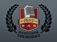 1683 Bar Event Logo