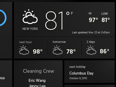 温度显示界面设计 | 视觉中国