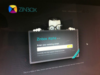 Dribbble Zinbox login