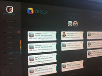 Dribbble Zinbox UI second version