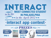 interact app contest poster