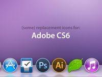 Icons for Adobe CS6